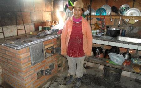 Beneficiaria del proyecto en el Cañón del Chicamocha y Antioquia