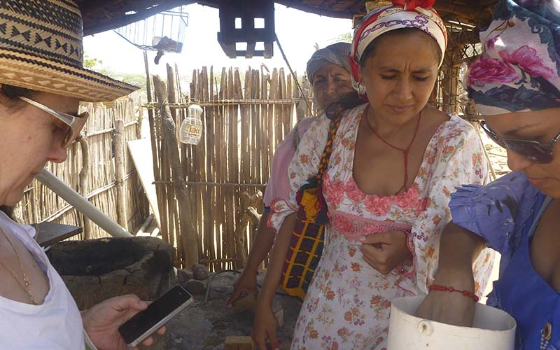 Proyecto Estufas Guajira Fundacion Natura