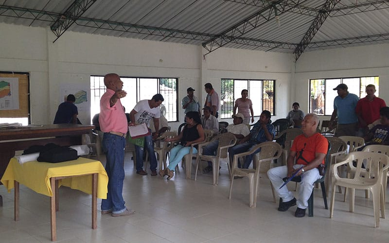 Reunion Presidentes De Junta De Accion Comunal PBOT - Cumaribo Vichada 2015