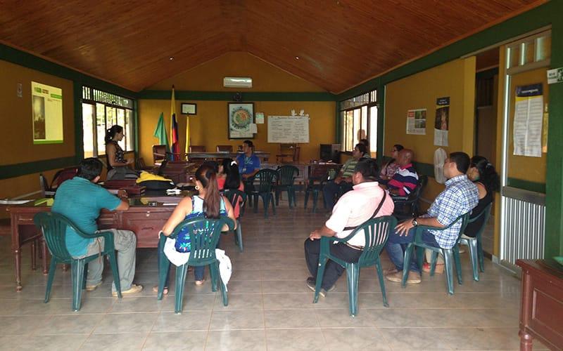 MADS -Taller De Fortalecimiento Instituciones Municipio Cumaribo Vichada 2015