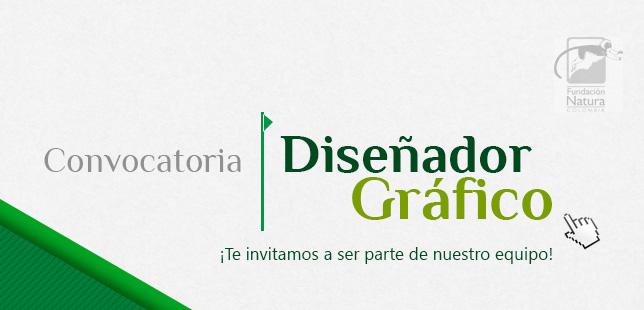 Convocatoria Diseñador Grafico Fundacion Natura