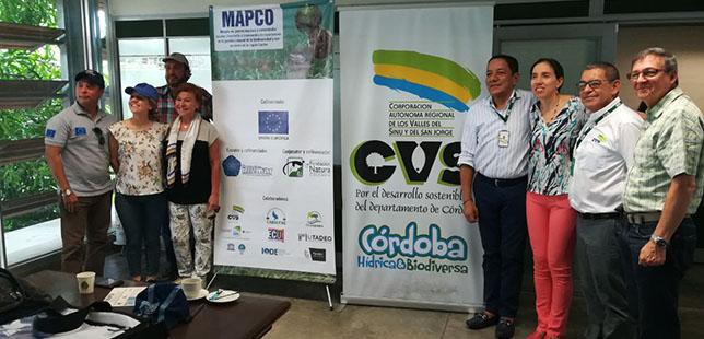Funcionarios De La Unión Europea Visitaron La Bahía De Cispata Y La Ciénaga De La Caimanera, En El Marco De MAPCO