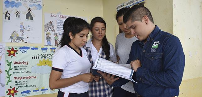 Estudiantes Monitorean El Clima En Santander