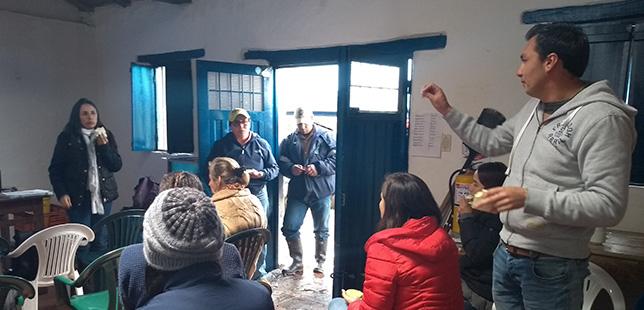 Capacitación Sobre El Control De Retamo Espinoso En Las Comunidades De Sibaté Y Guasca, Una Estrategia De Apoyo Para La Restauración Ambiental