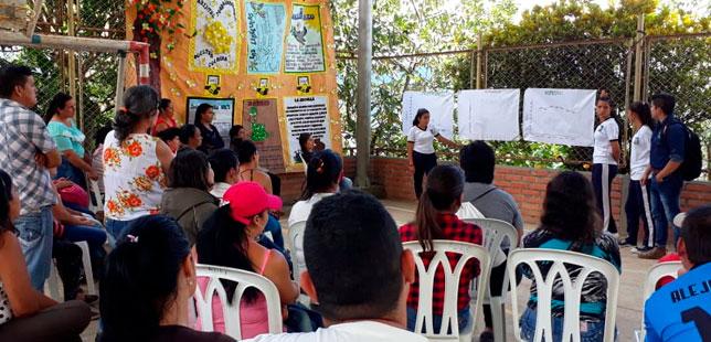 Monitoreo Climático Participativo Hace Parte Del Día Ambiental De La Institución Educativa El Rubí De San Vicente De Chucurí
