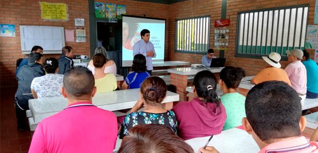 Agricultores Dan A Conocer Sus Conocimientos Sobre Monitoreo Climático En Santander