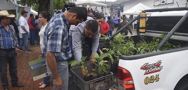 Plan De Restauración Ecológica De Bosque Seco, De Nuevo Presente En La Feria Del Día Del Campesino De El Agrado